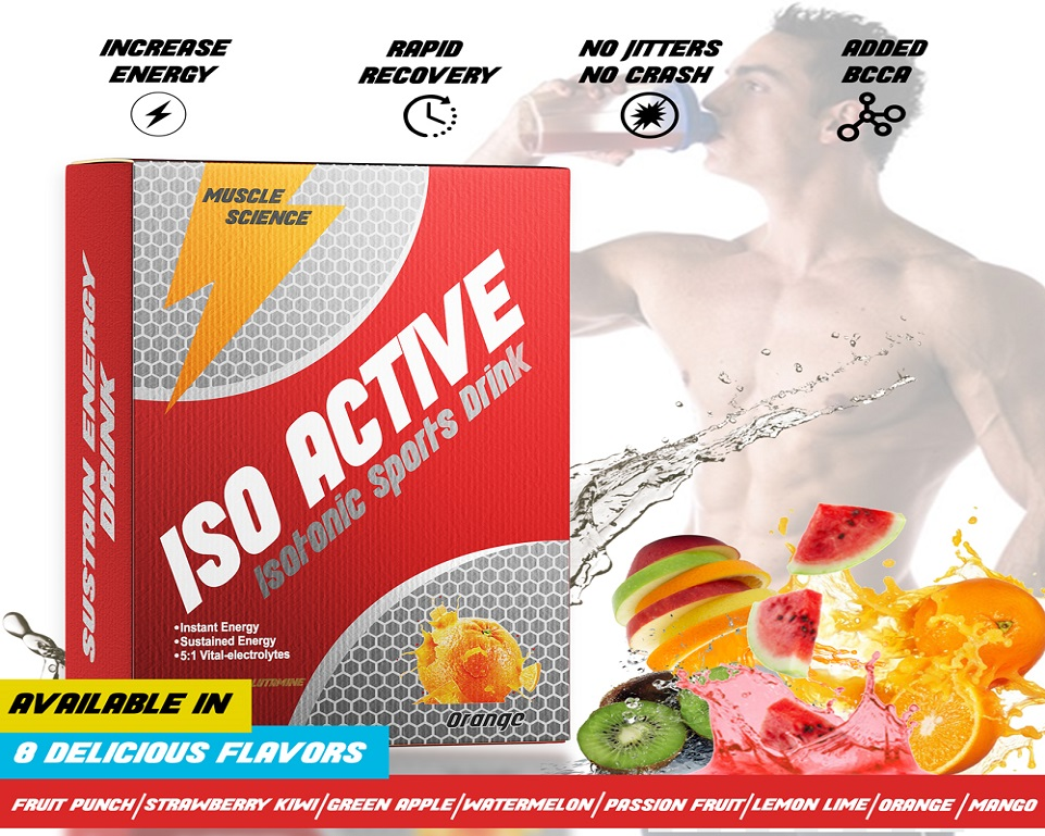 Muscle Science Iso Active 1Kg