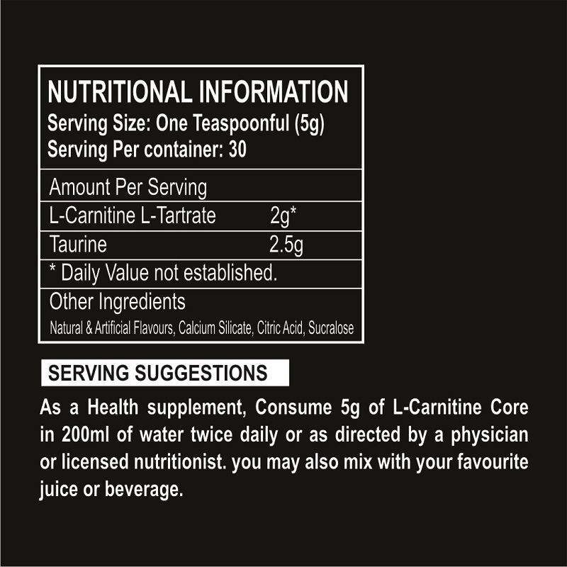 Muscle Science Carnitine Core
