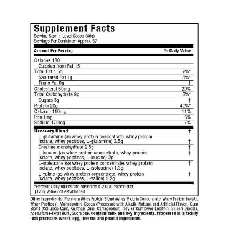 Muscletech Premium 100% Whey Protein Plus