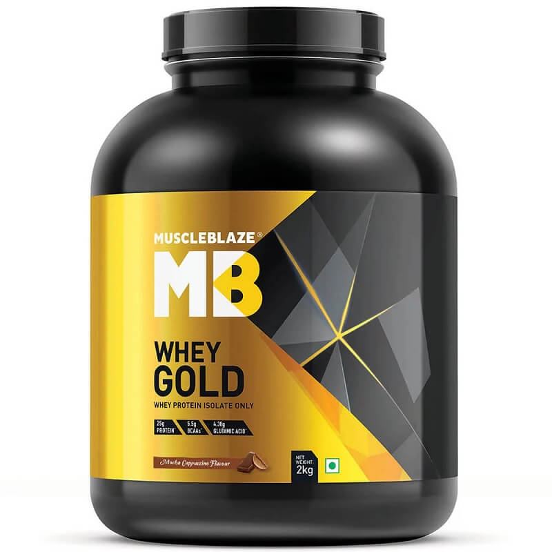 MuscleBlaze Whey Gold Protein Isolate
