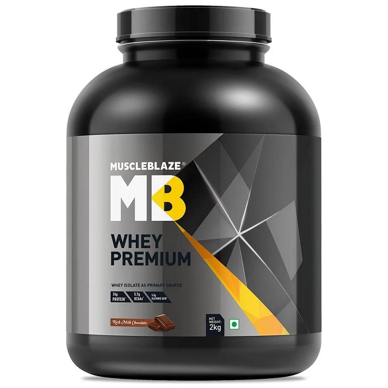 MuscleBlaze Whey Premium (Rich Milk Chocolate)