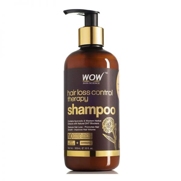 WOW Anti Hairfall Control Therapy Shampoo