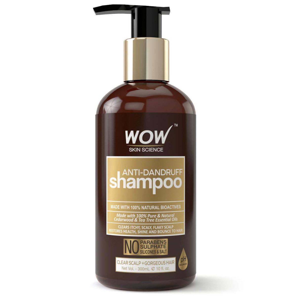 WOW Anti Dandruff Shampoo (300ml)