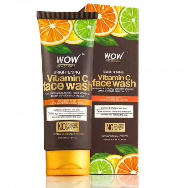 WOW Skin Science Vitamin C Brightening Face Wash 100 mL