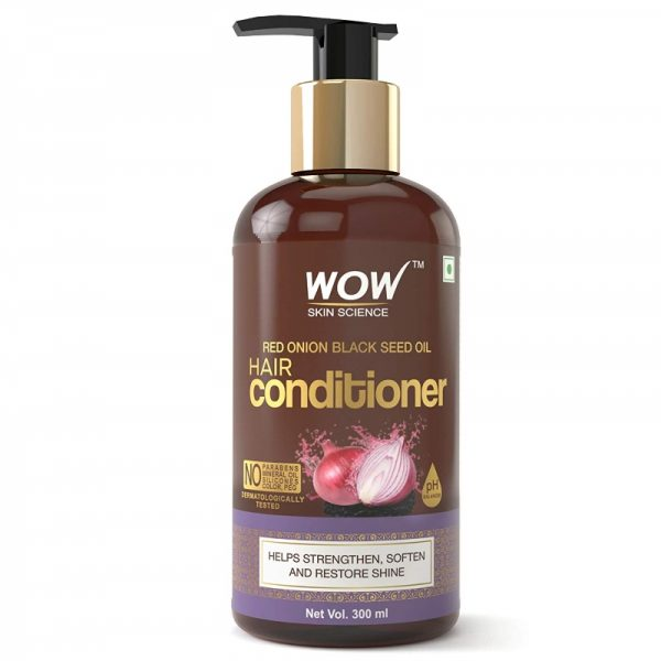 WOW Red Onion Black Seed Oil Conditioner