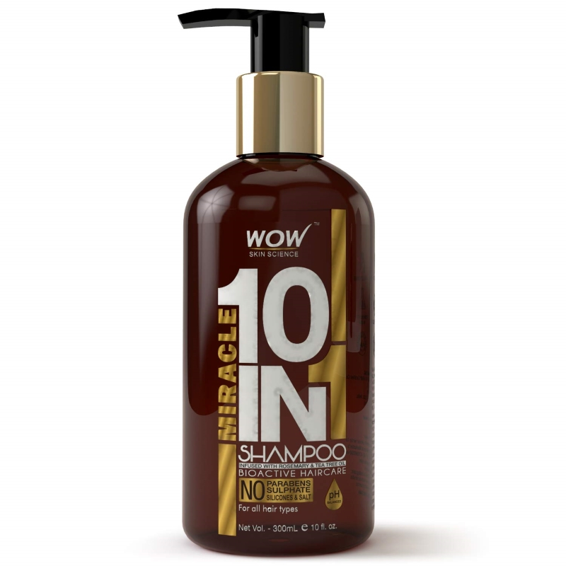 Wow 10 in 1 miracle shampoo