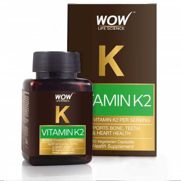 WOW Life Science Vitamin K2 60 Capsules