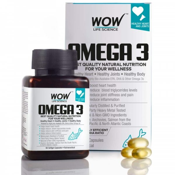 WOW Life Science Omega-3 Fish Oil