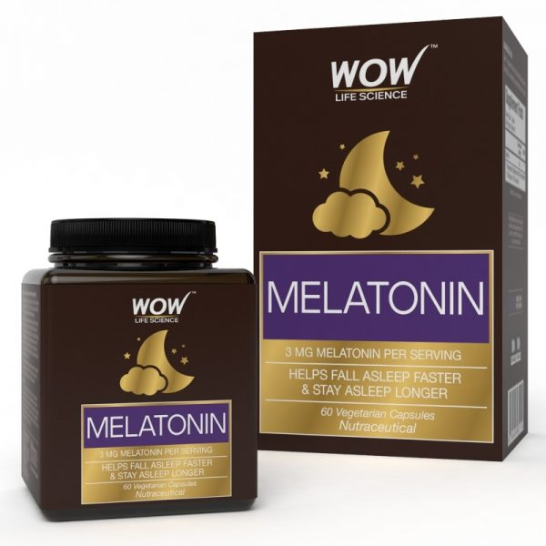WOW Life Science Melatonin 60 Capsules