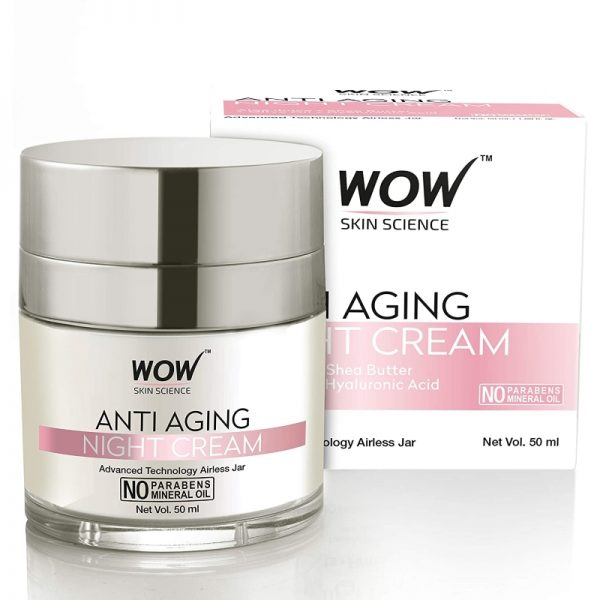 WOW Skin Science Anti Aging Daily Night Cream