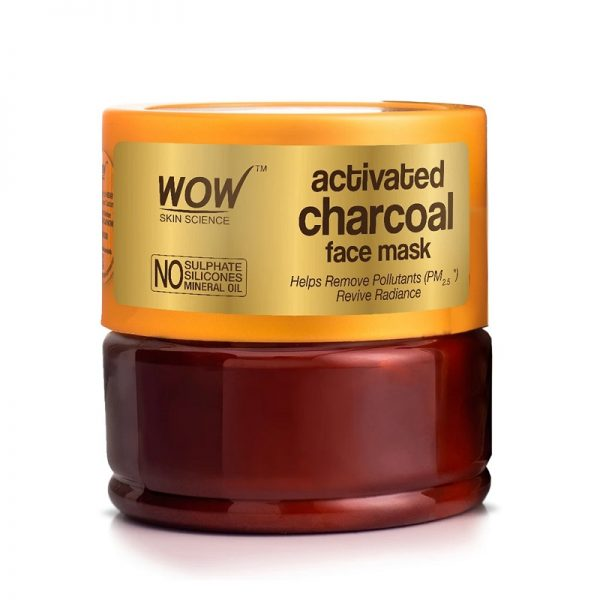 WOW Skin Science Activated Charcoal Face Mask