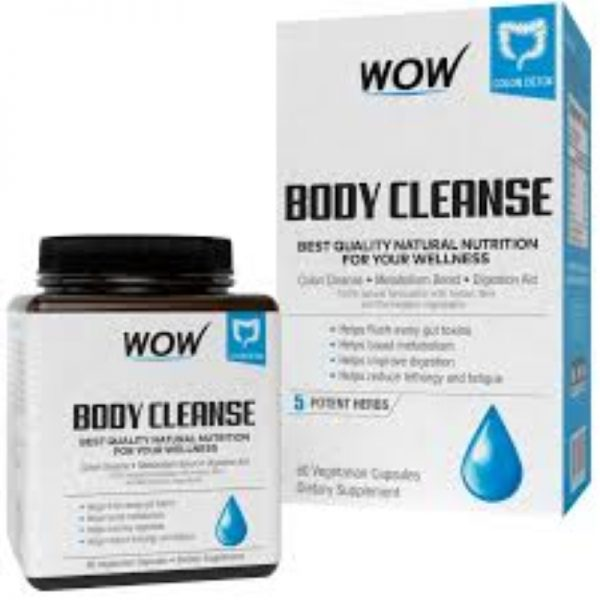 WOW Life Science Body Cleanse Herbal and Antioxidants Supplement